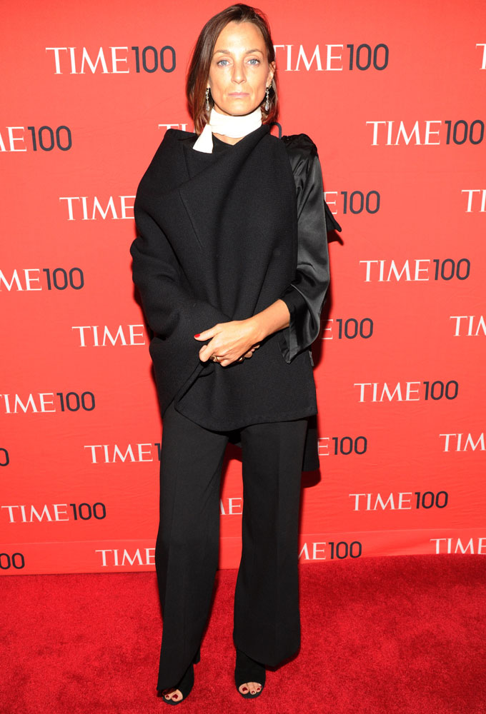Honoree  Phoebe Philo attends the TIME 100 Gala, TIME's 100 most influential people in the world at Jazz at Lincoln Center on April 29, 2014 in New York City.