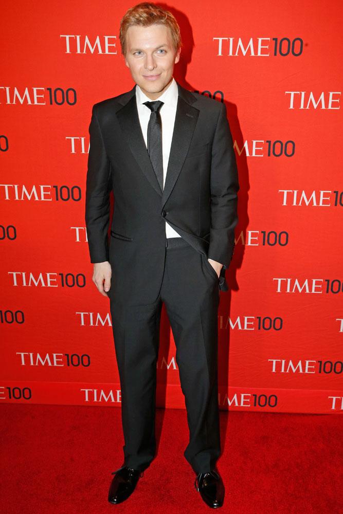 Ronan Farrow at the Time 100 Gala at Jazz at Lincoln Center in New York on April, 29, 2014.