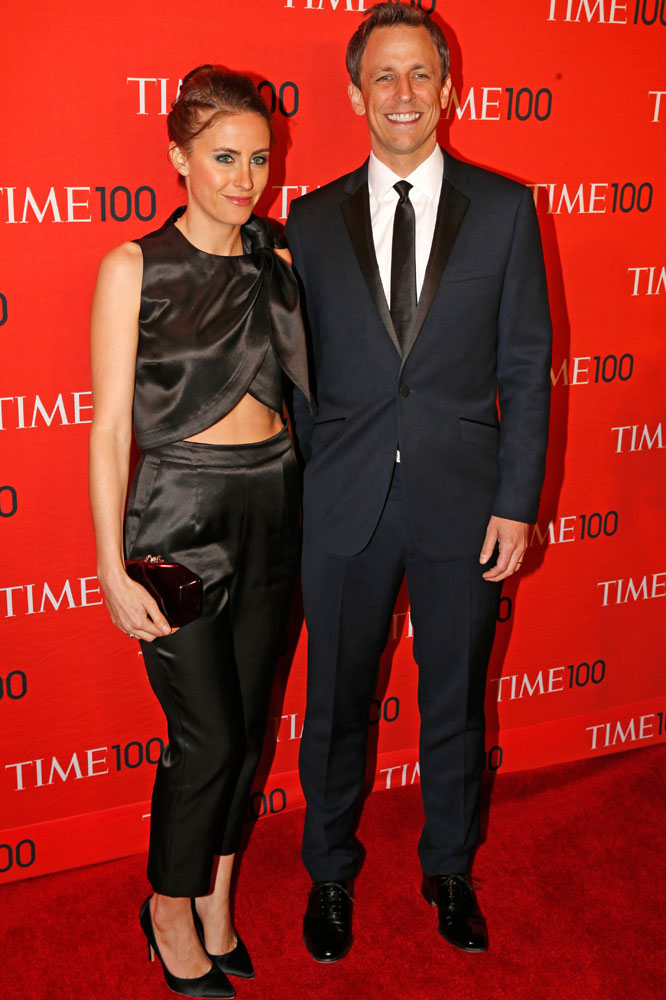 Honoree Seth Meyers at the Time 100 Gala at Jazz at Lincoln Center in New York on April, 29, 2014.