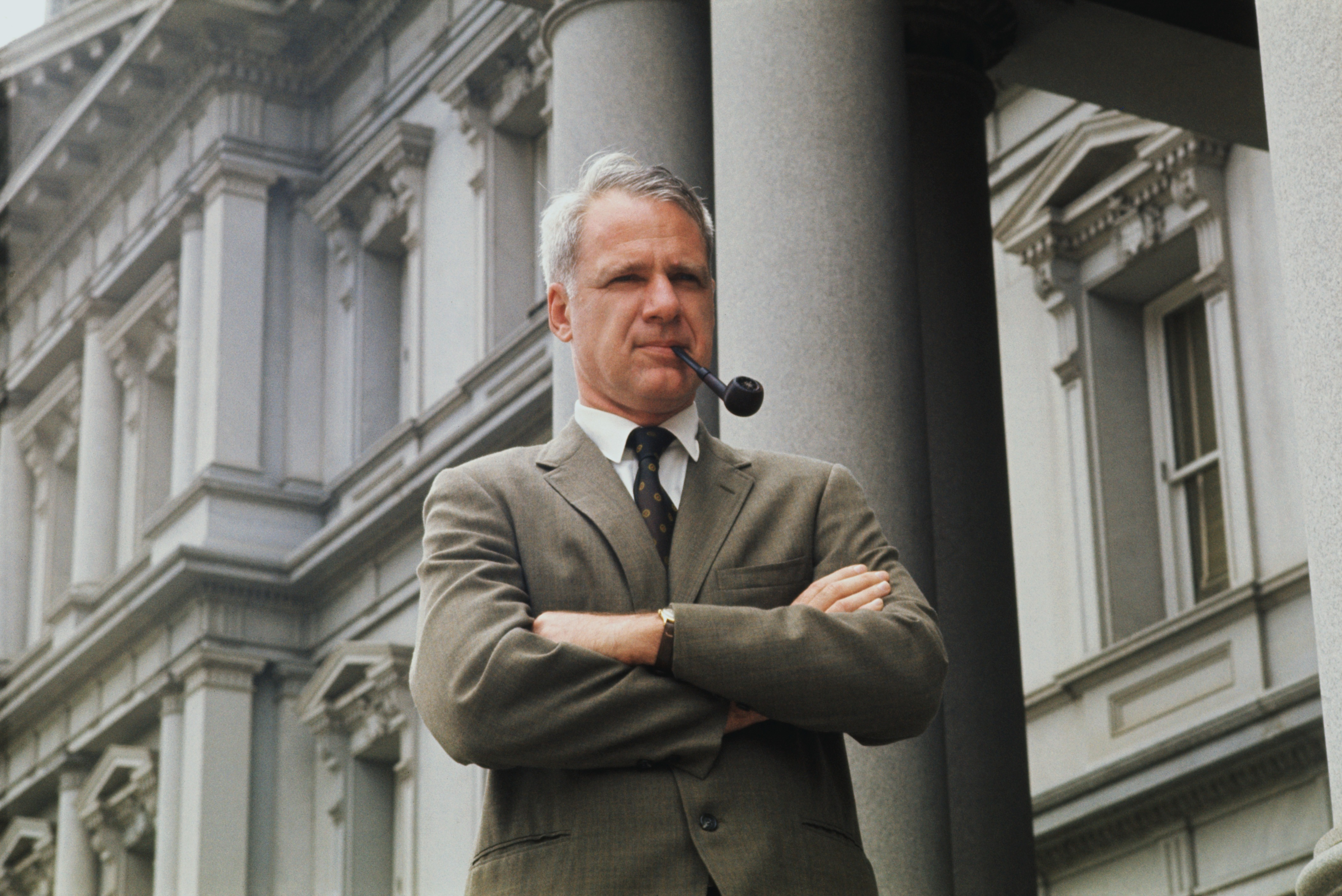 James Schlesinger, photographed in Washington in 1971, died March 27 at 85