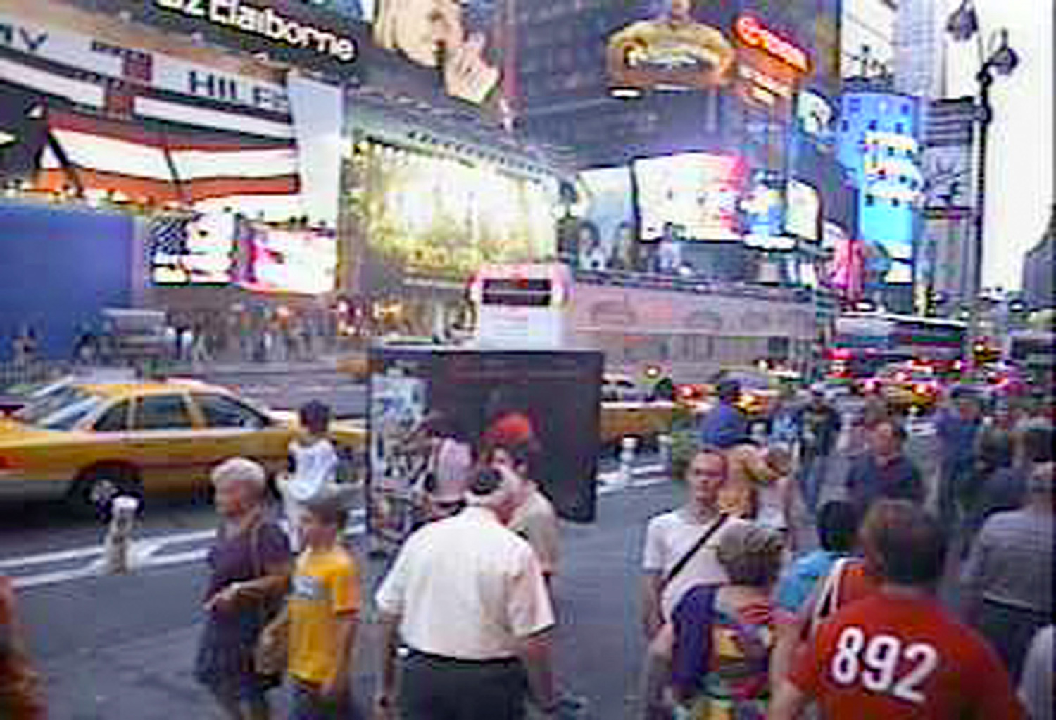 Times Square, New York City, 2002
