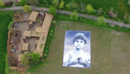 TOPSHOTS-PAKISTAN-FRANCE-UNREST-DRONES-ART