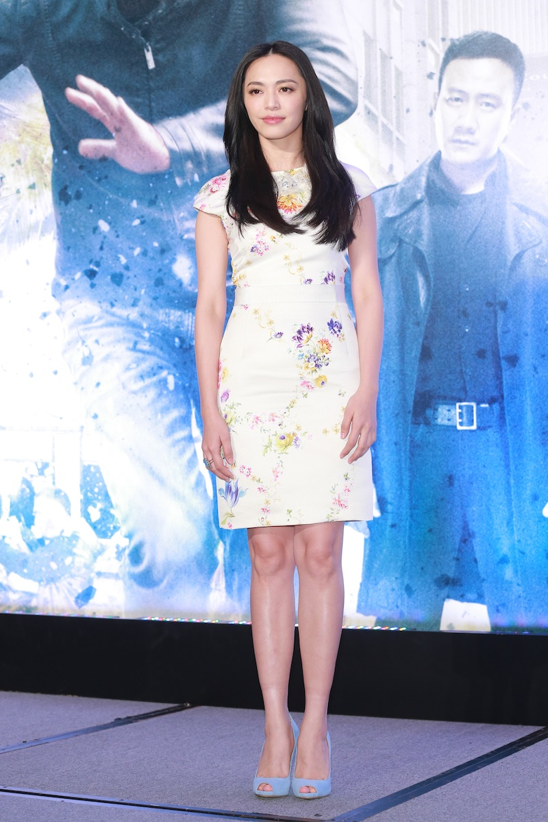 Yao Chen attends  Firestorm  press conference during the 56th Asia-Pacific Film Festival on Dec. 13, 2013 in Macau