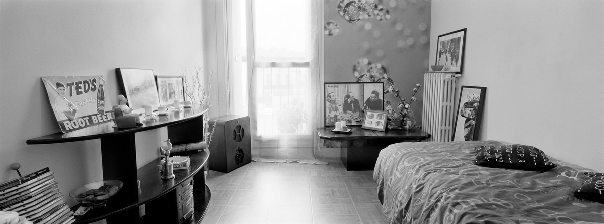 Marine Cpl. Chef Jean-Nicolas Panezyck, 25, was killed by small arms fire on Aug. 23, 2010, in Tagab, Afghanistan. He was from Versailles, France. His Bedroom was photographed on March 20, 2011.