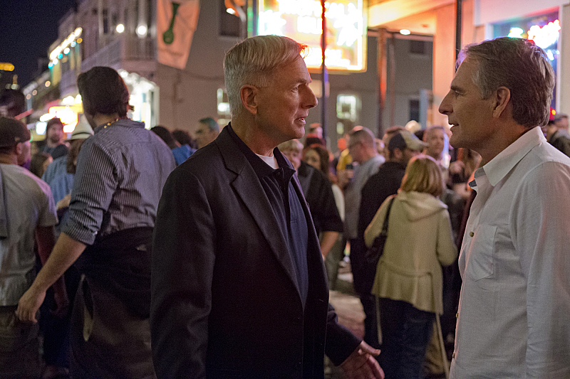Mark Harmon and Scott Bakula in the crossover episode that launched NCIS: New Orleans.