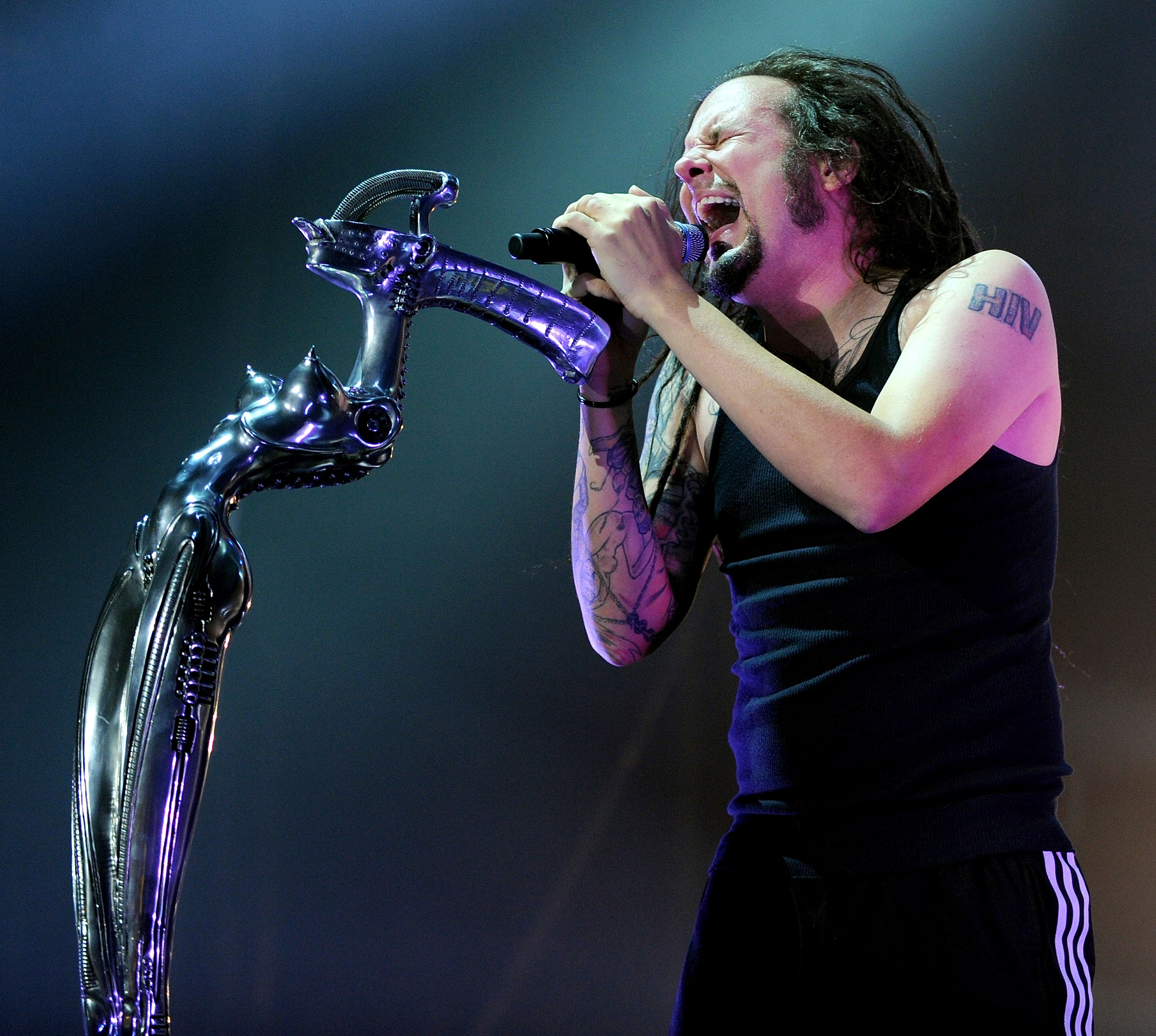 Korn in Manchester, England.