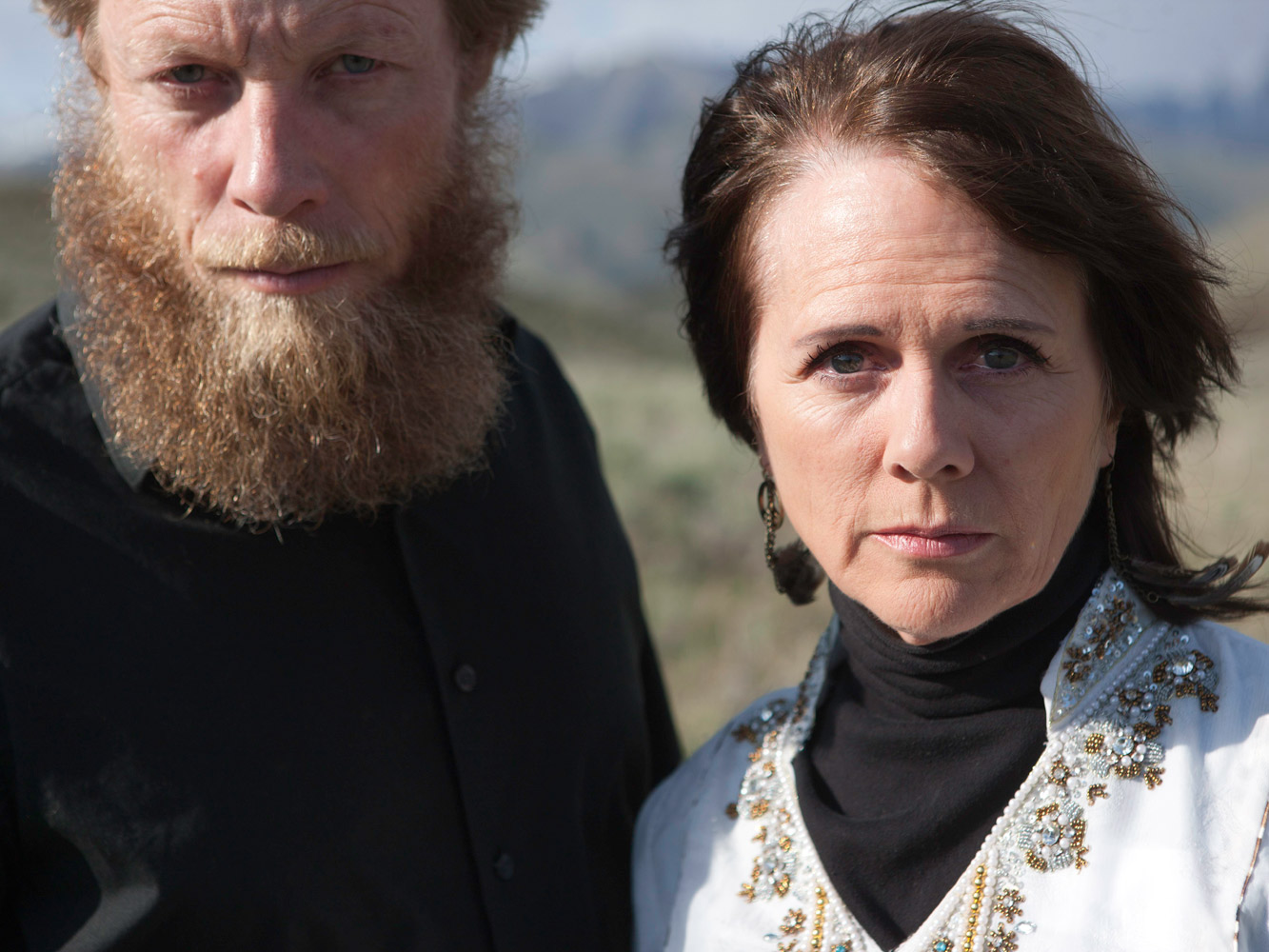 Robert and Jani Bergdahl shown in their home town of Hailey, Idaho.
