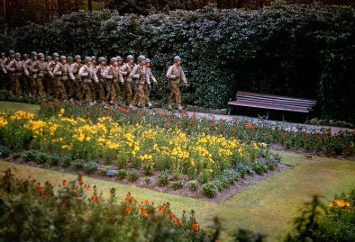 American troops in England before D-Day