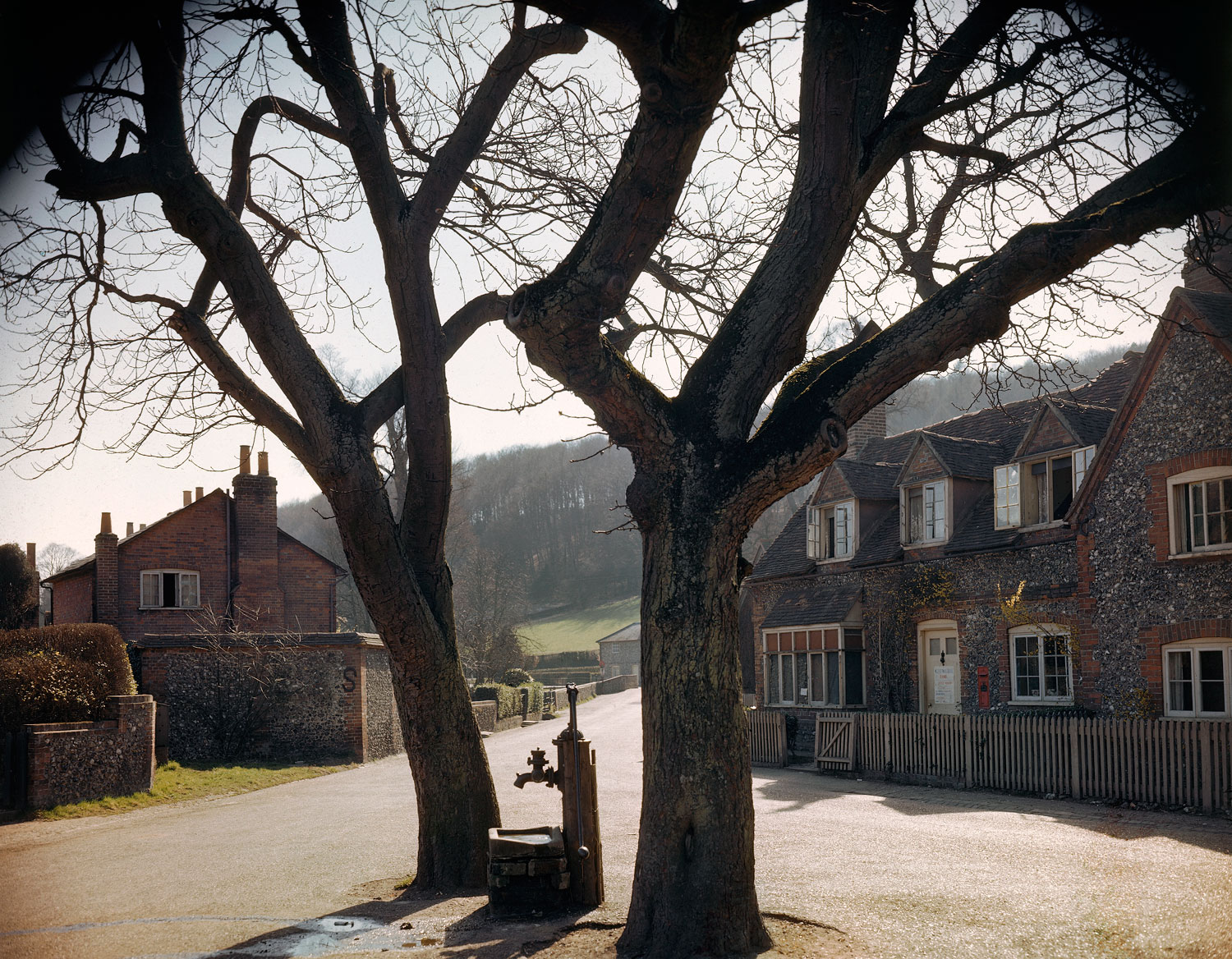 A small town in England in the spring of 1944, shortly before D-Day.