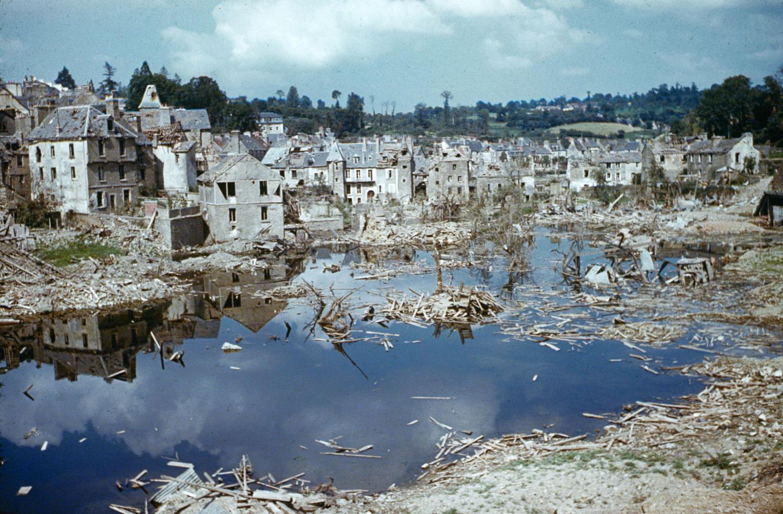 Saint-Lô, Normandy, summer 1944.
