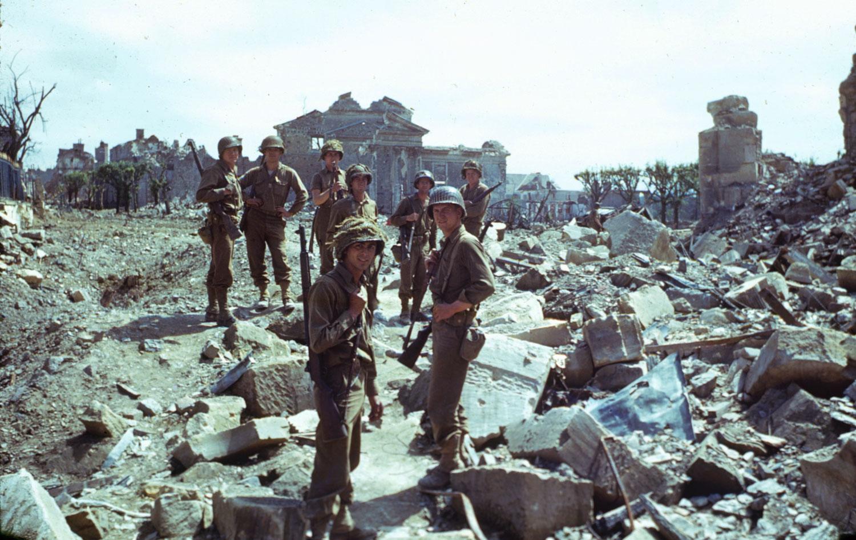 American troops, northwestern France, summer 1944.