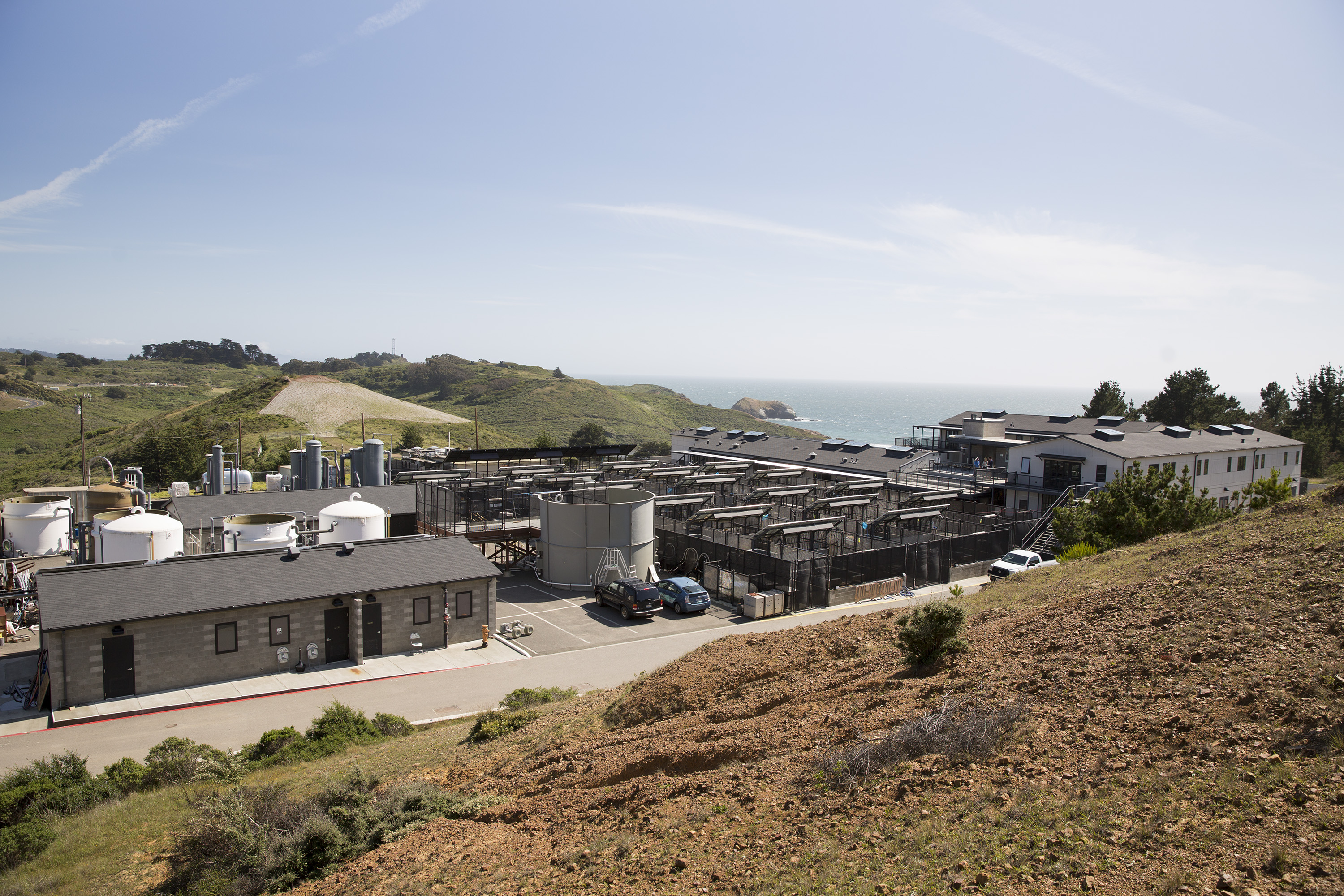The Marine Mammal Center sits where the U.S. military once had a missile site outside San Francisco, in the Marin Headlands, Calif., May 9, 2014.