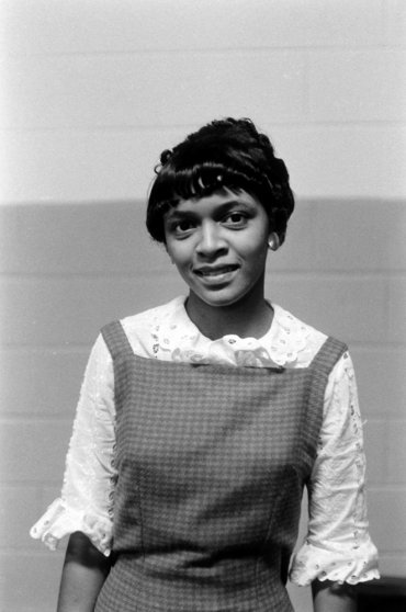 Betty Jean Reed, the only black student at Granby High School in Norfolk, Va., 1959