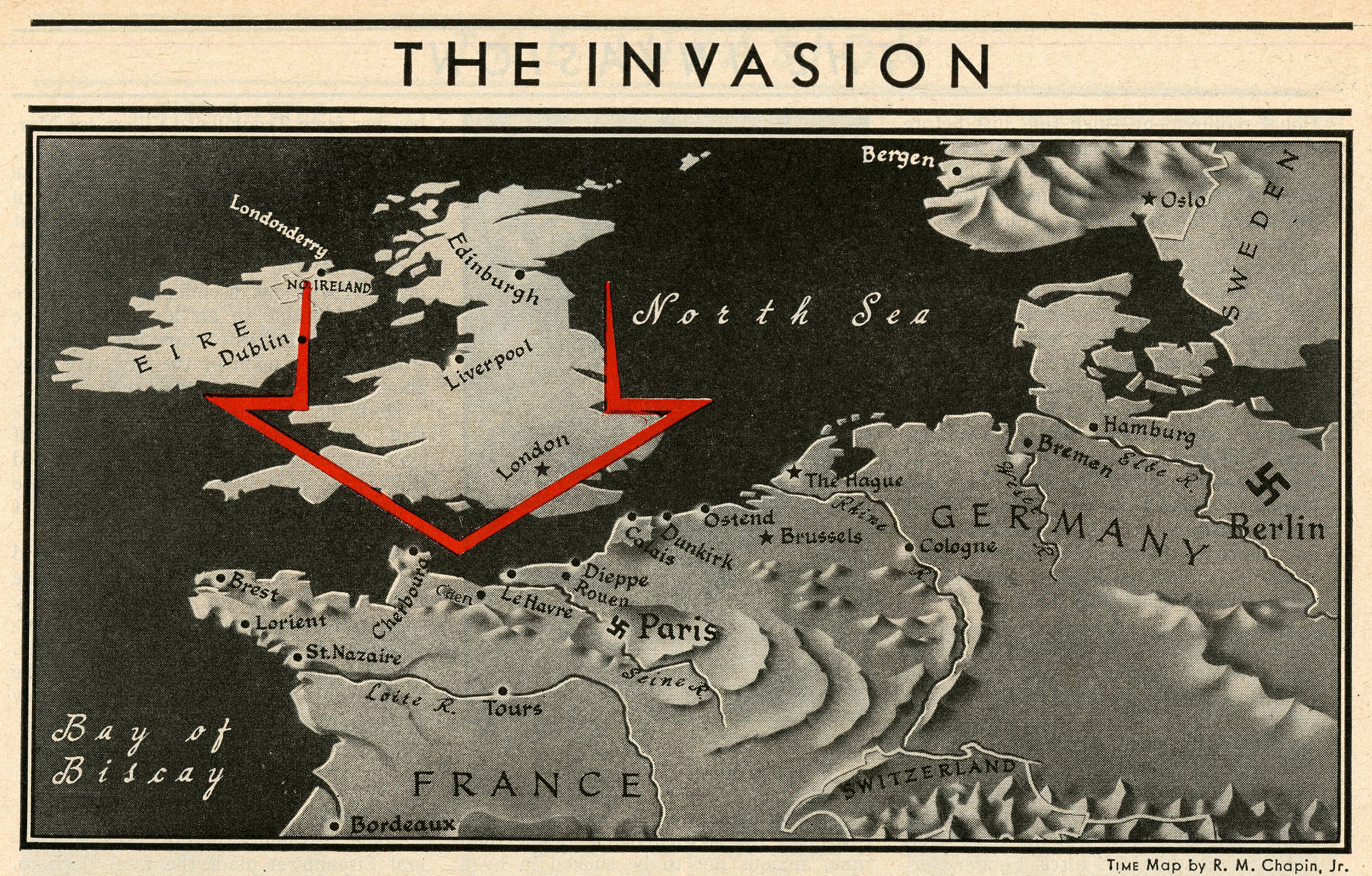 From the June 12, 1944 issue of TIME.