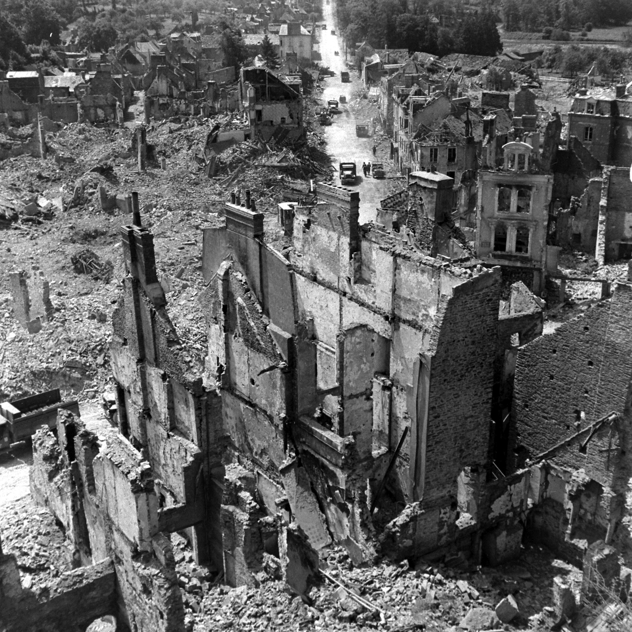 St. Lo, France, summer 1944.