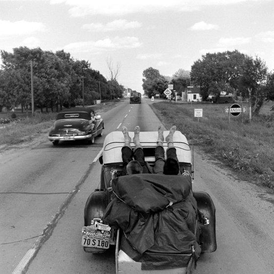 Route 30, USA, 1948.