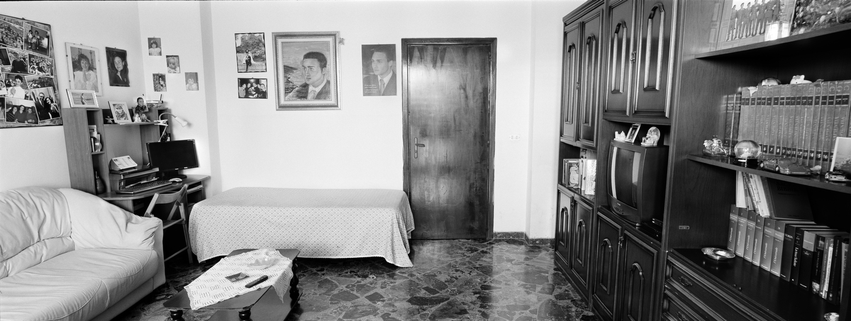 Caporale Maggiore Marco Pedone, 23, was killed by a roadside bomb on Oct. 9, 2010, in the Gulistan Valley, Afghanistan. He was from Patú, Lecce, Italy. His bedroom was photographed on Aug. 20, 2011.