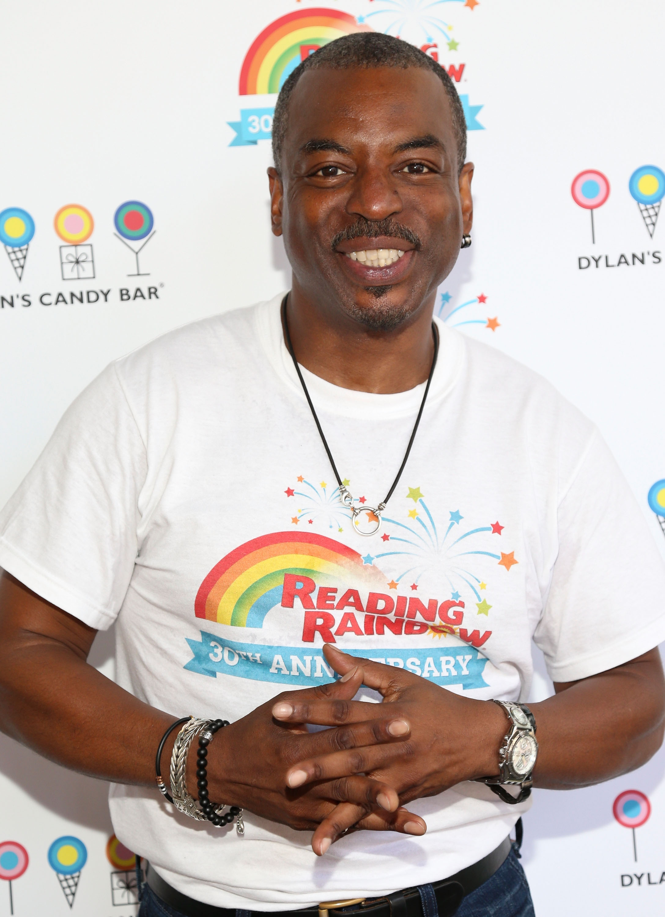 Actor LeVar Burton attends the Reading Rainbow's 30th Anniversary Celebration