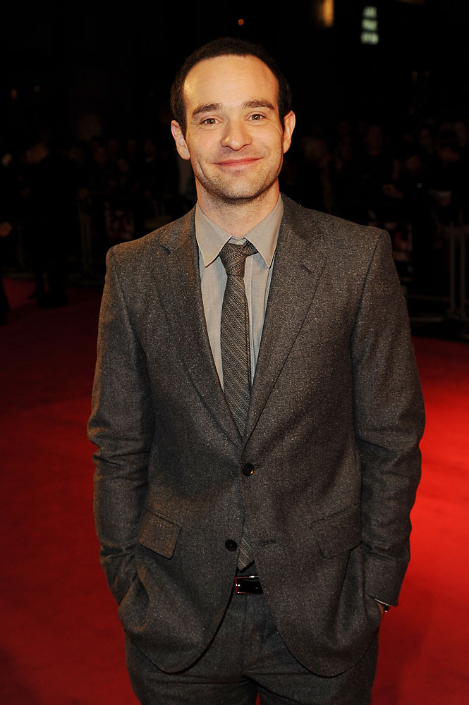 Charlie Cox attends a screening of  Hello Carter  during the 57th BFI London Film Festival at Odeon West End on Oct. 12, 2013 in London.