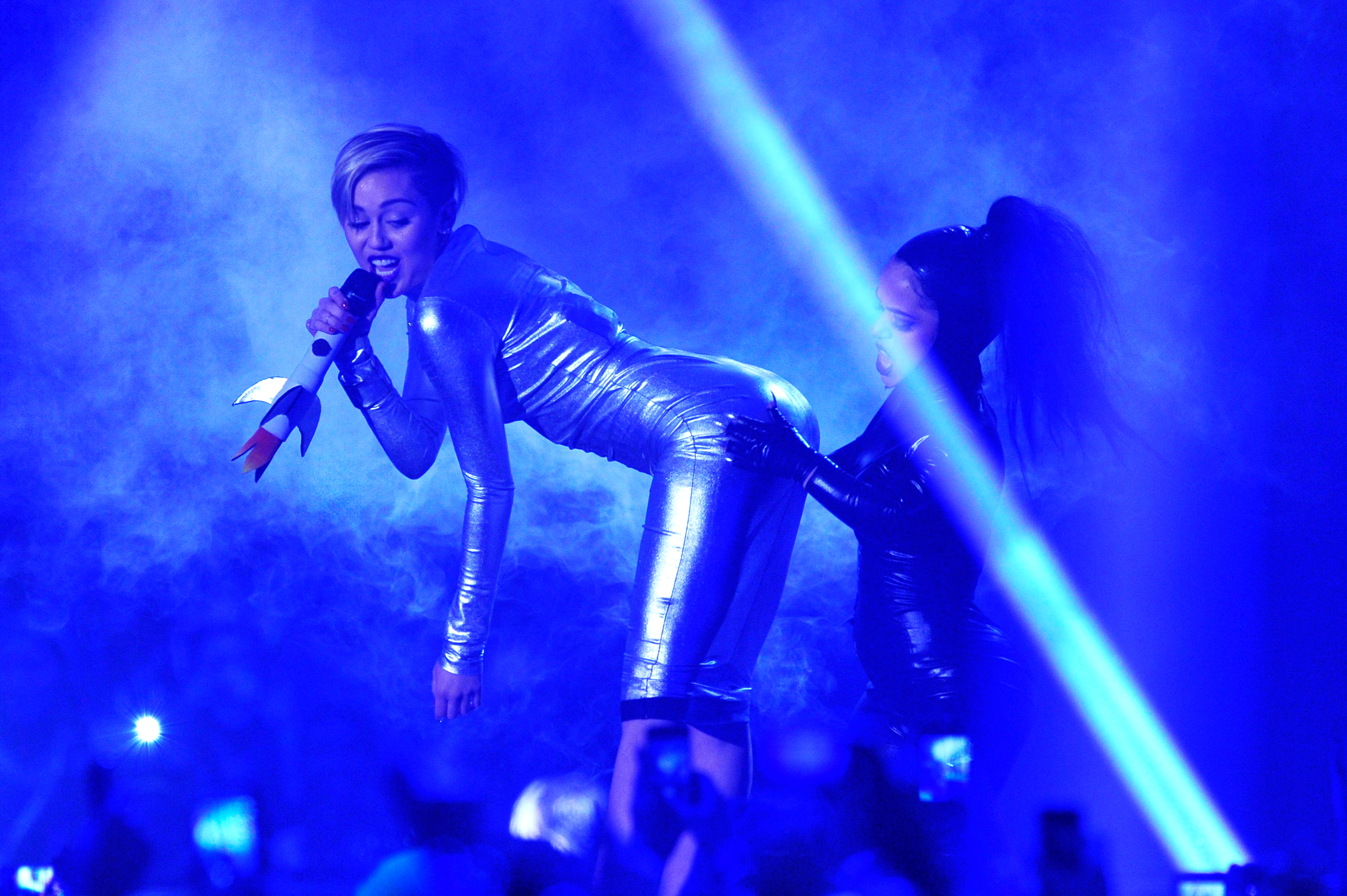 An alternative view during the MTV EMA's 2013 at the Ziggo Dome on November 10, 2013 in Amsterdam, Netherlands.