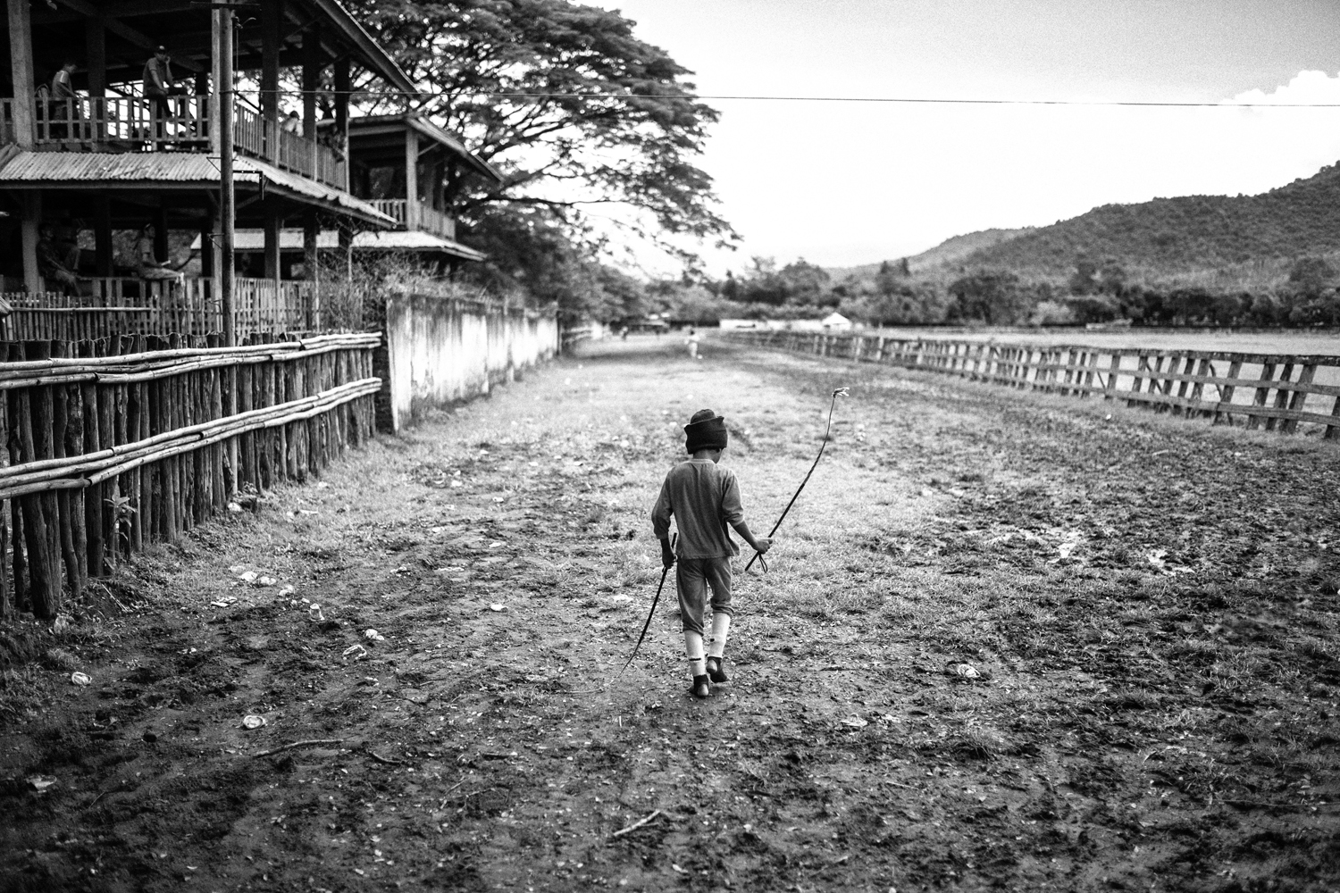 May 25, 2013. A jockey is seen before a race.