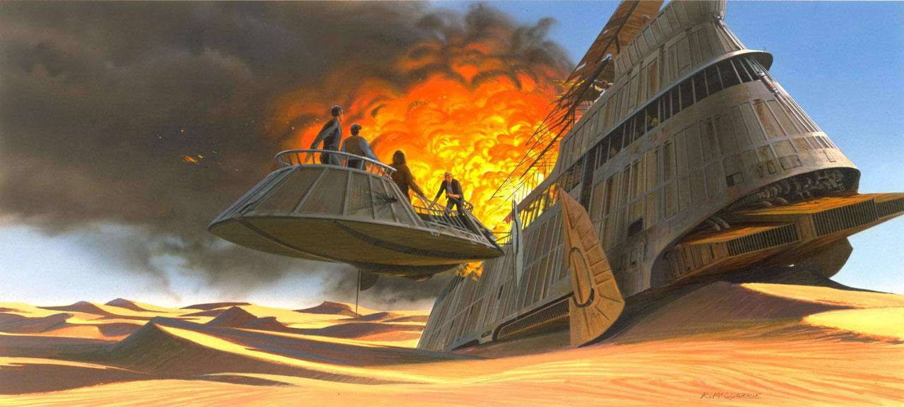 Jabba's fall