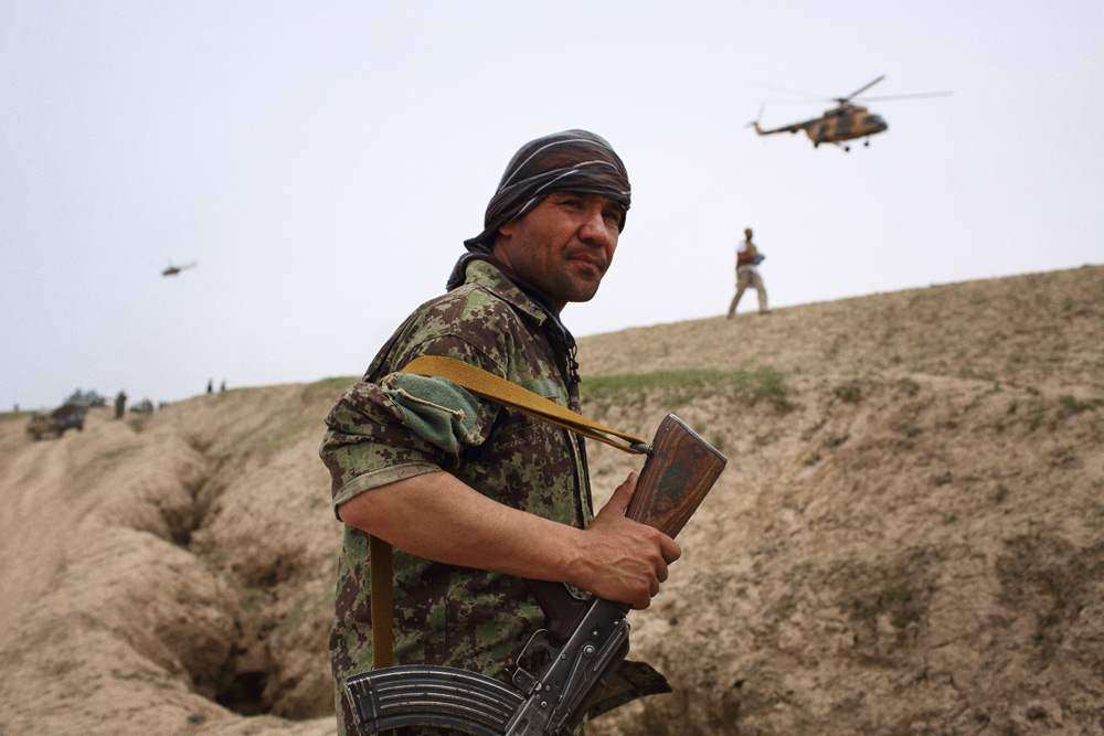 Security was increased for visits by Batur Dostum, the son of General Abdul Rashid Dostum, and Mohammad Yunus Qanuni, one of Afghanistan's two Vice Presidents, on a day that was declared a national day of mourning by President Hamid Karzai, May 4, 2014.