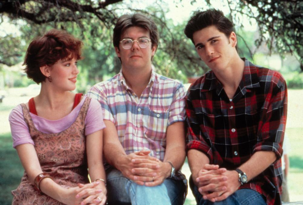 Molly Ringwald, Director John Hughes and Mark Schoeffling