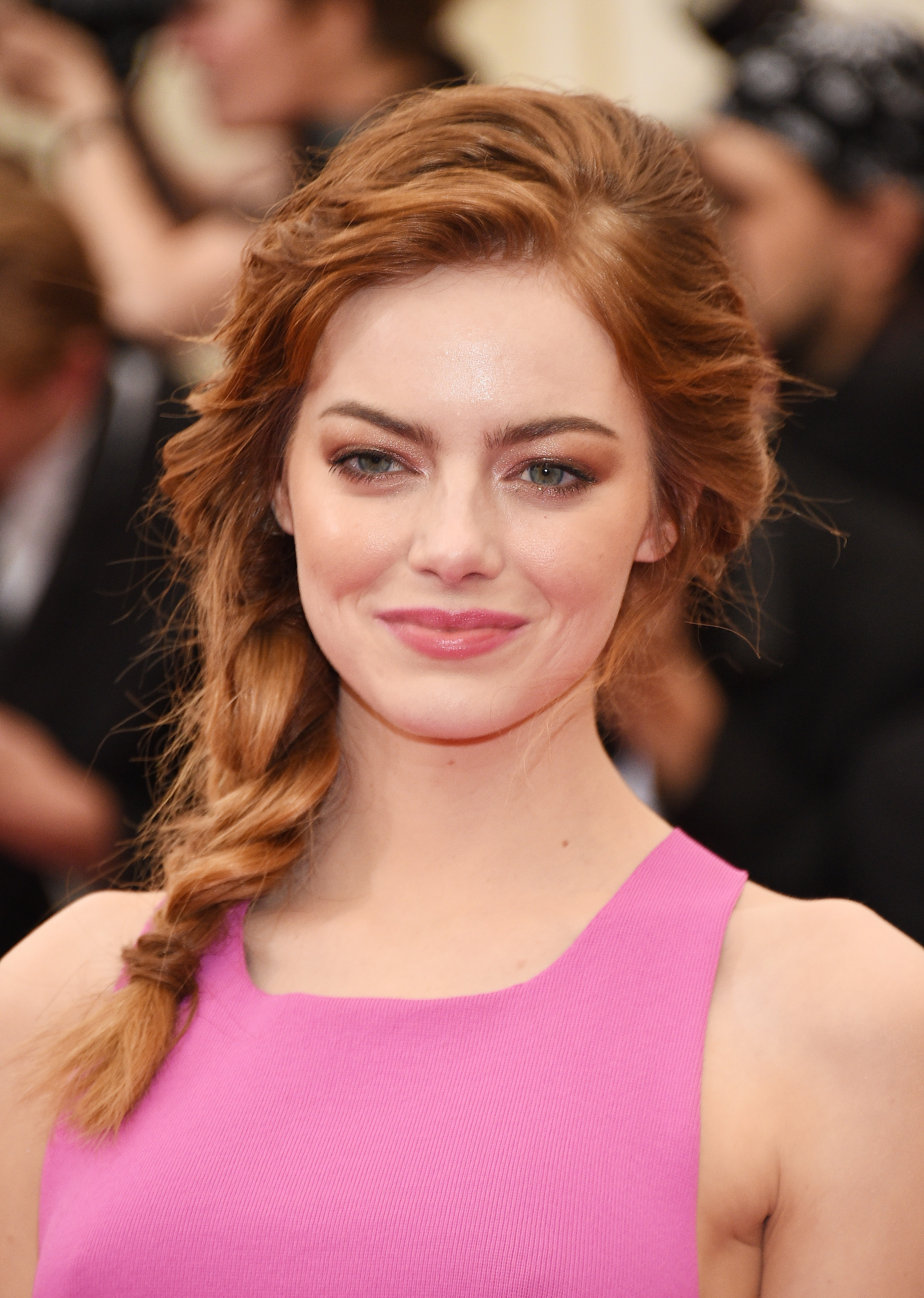 Emma Stone attends the  Charles James: Beyond Fashion  Costume Institute Gala at the Metropolitan Museum of Art on May 5, 2014 in New York City.