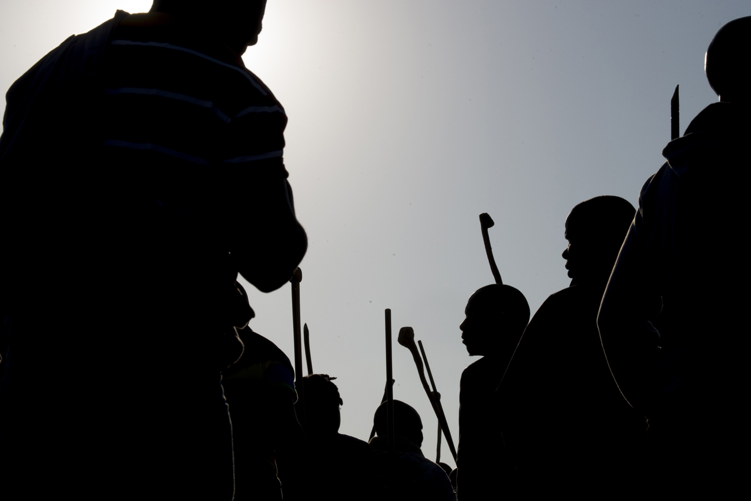 May 14, 2014. Hundreds of striking miners marched at a Lonmin platinum mine in South Africa where bosses have been trying to break deadly stoppages that have severely curbed production.