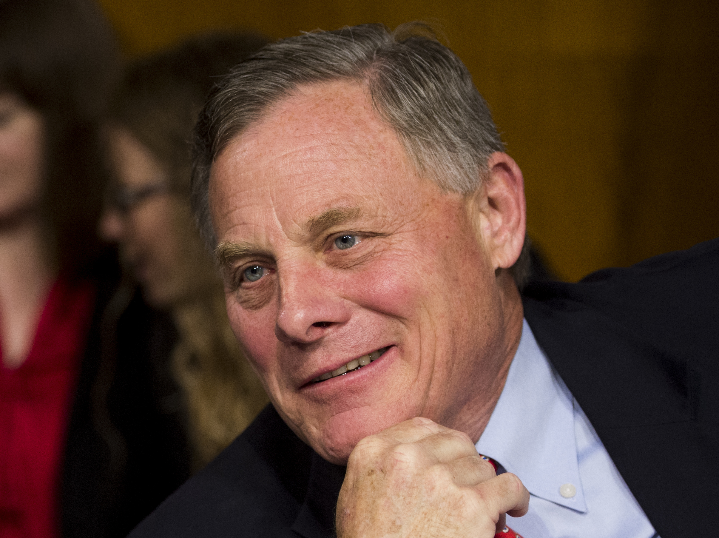 Senator Richard Burr, R-N.C., at the Senate hearing on Veteran Affairs, May 15, 2014.