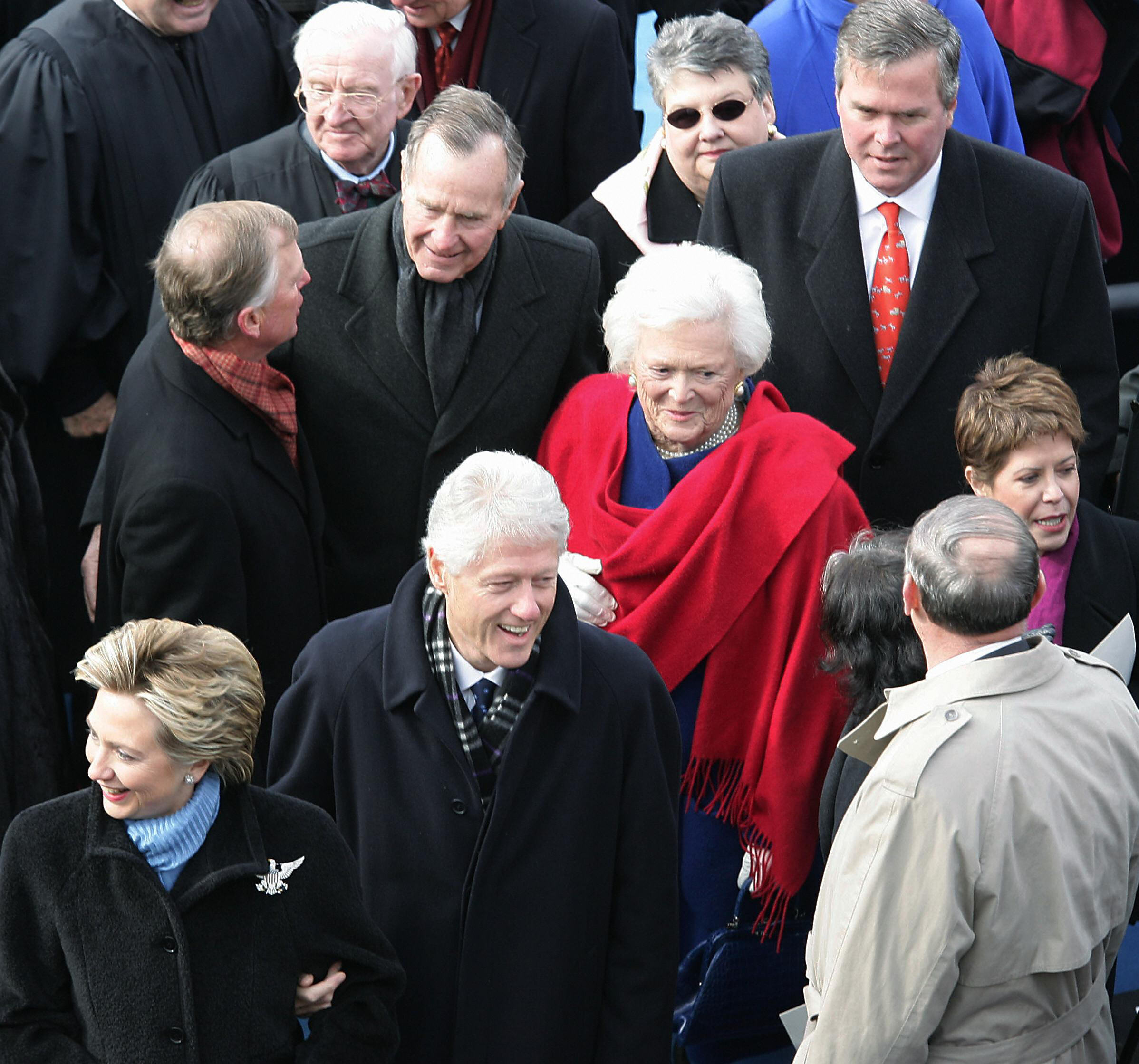 2005 inaugural ceremonies at the U.S. Capitol in Washington, D.C.