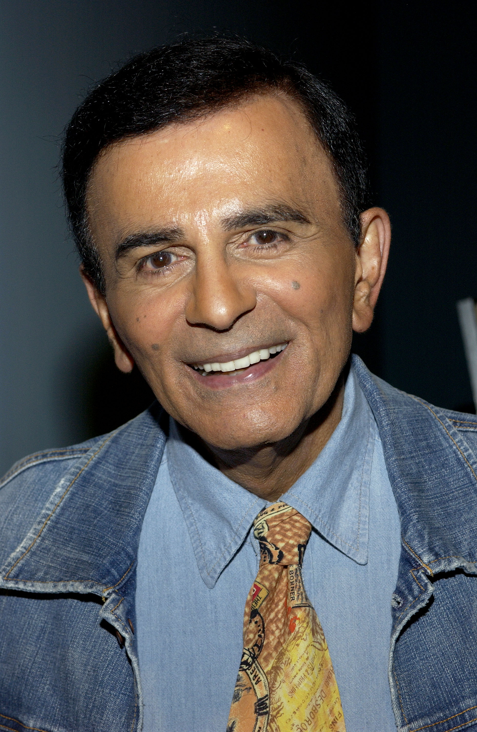 Casey Kasem arrives at the Golden Dads Awards ceremony at the Peterson Automotive Museum on June 15, 2005 in Los Angeles, Ca.