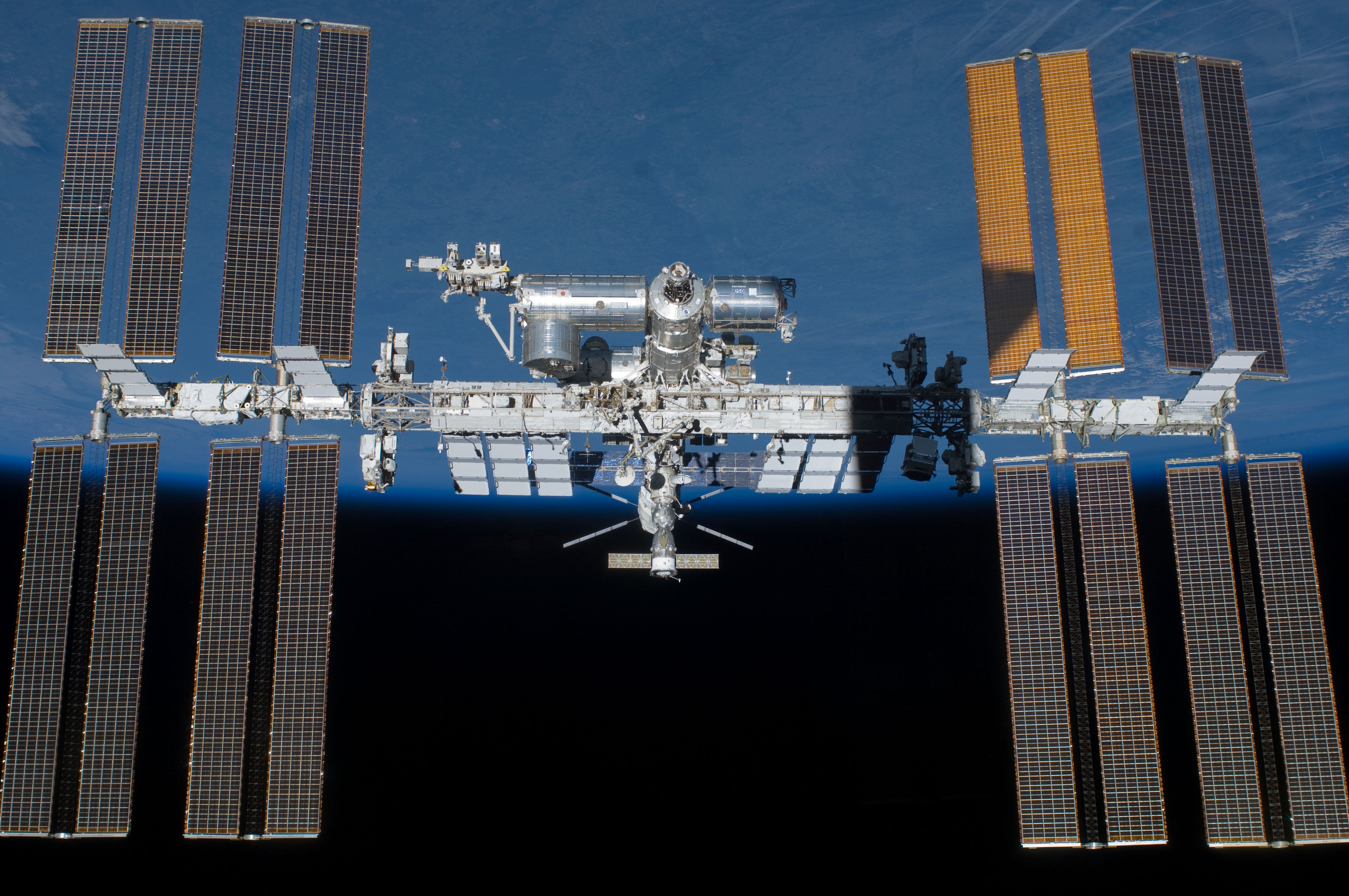 The International Space Station: Putin won't come to play anymore