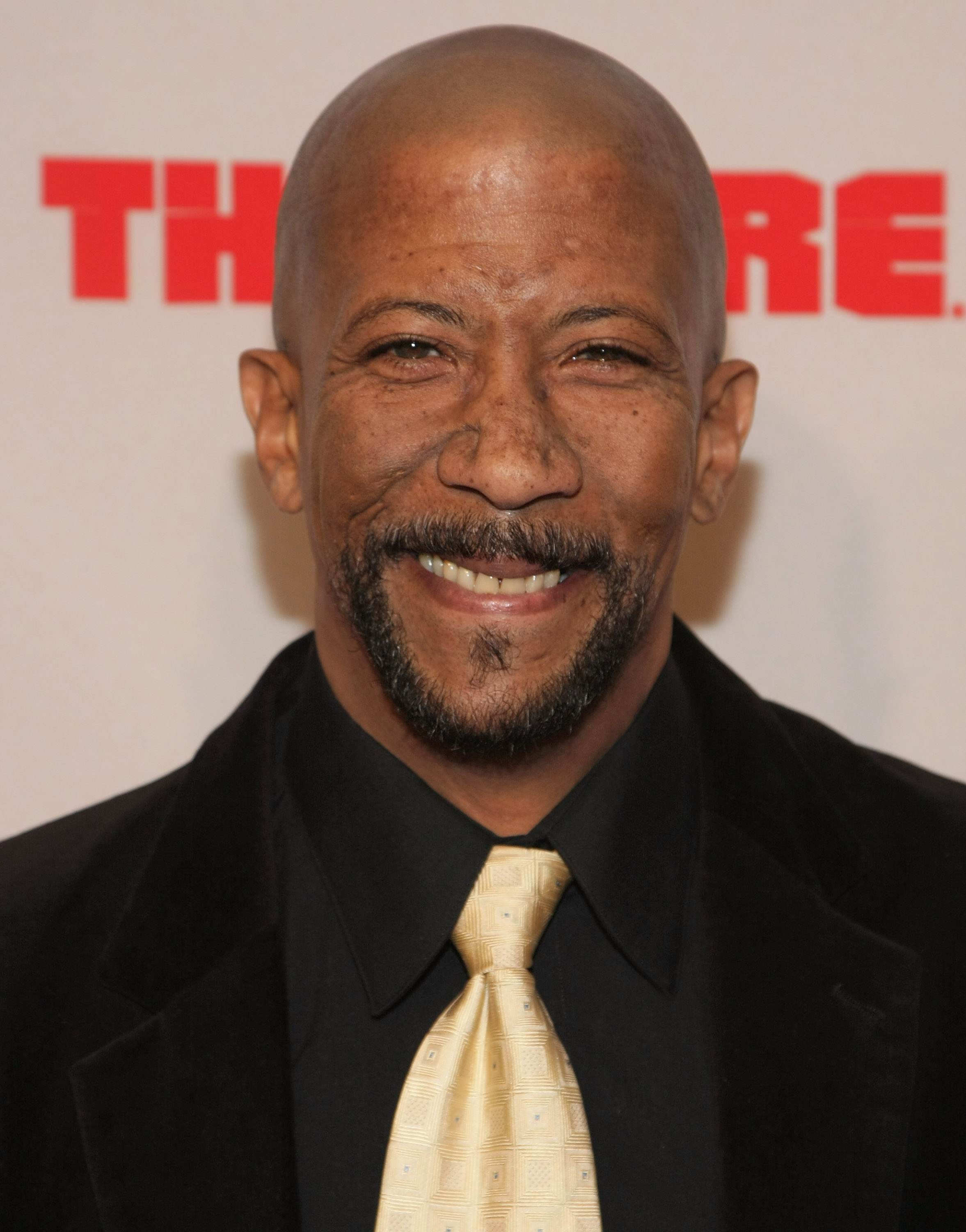 Reg E. Cathey arrives at the  The Wire  Season 5 Premiere at the Chelsea West Theater on Jan. 4, 2008 in New York City.