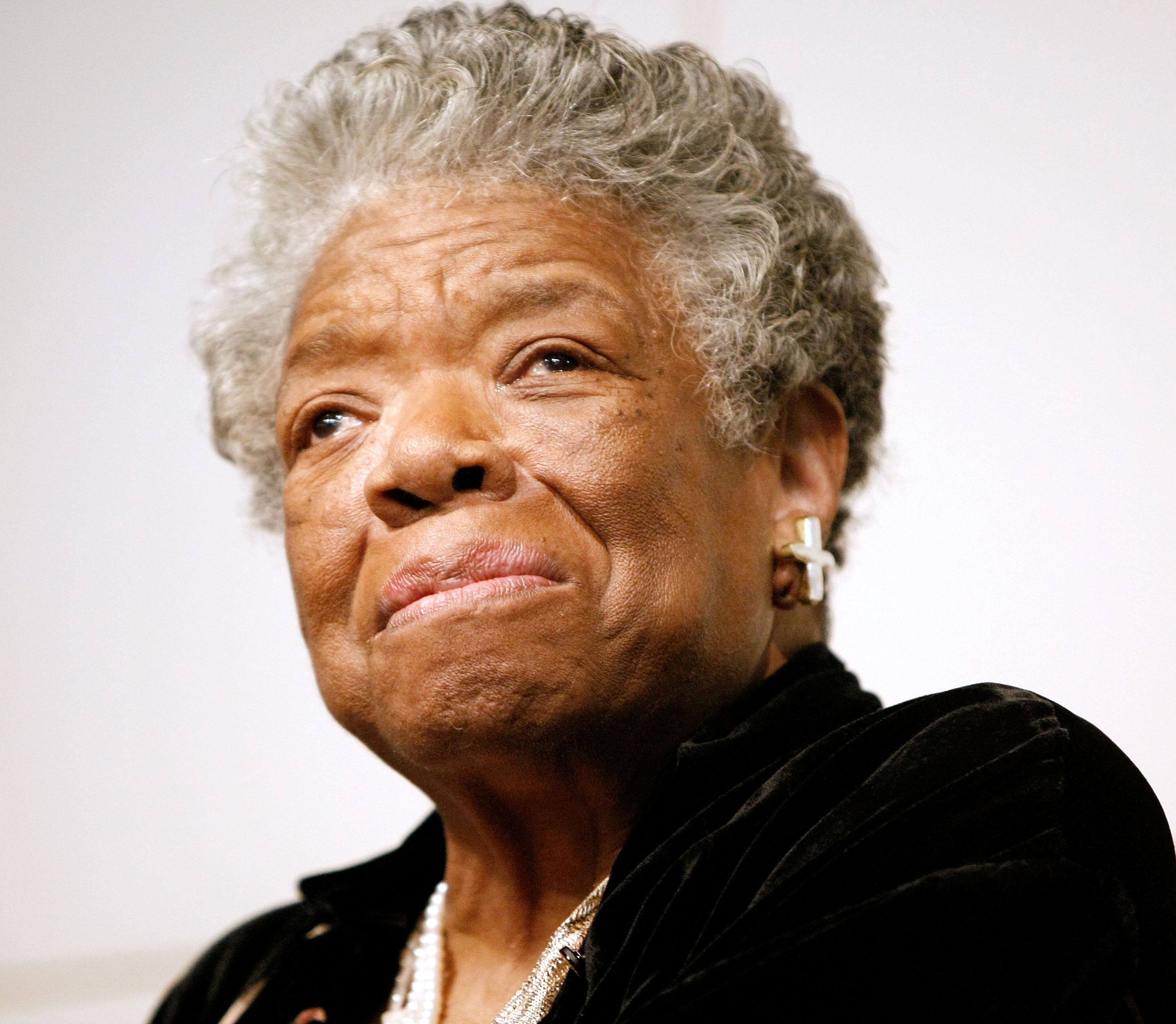 Poet and Author Maya Angelou signs copies of  Maya Angelou: Letter to My Daughter  at Barnes & Noble in Union Square on October 30, 2008 in New York City.