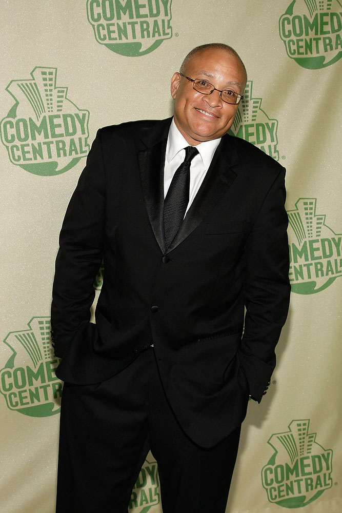 Writer/actor Larry Wilmore will replace Stephen Colbert on Comedy Central on a new weeknight show,  The Minority Report . Los Angeles, CA.