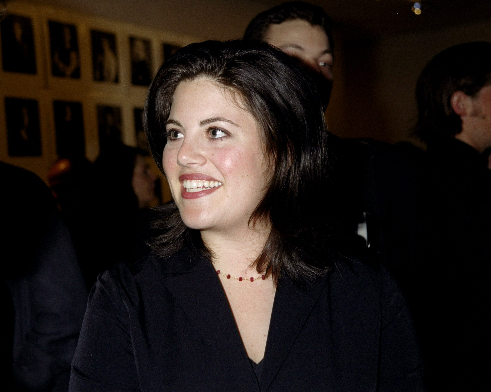 Monica Lewinsky attends the Timothy Greenfield-Sanders portrait photo exhibit at Mary Boone Gallery.