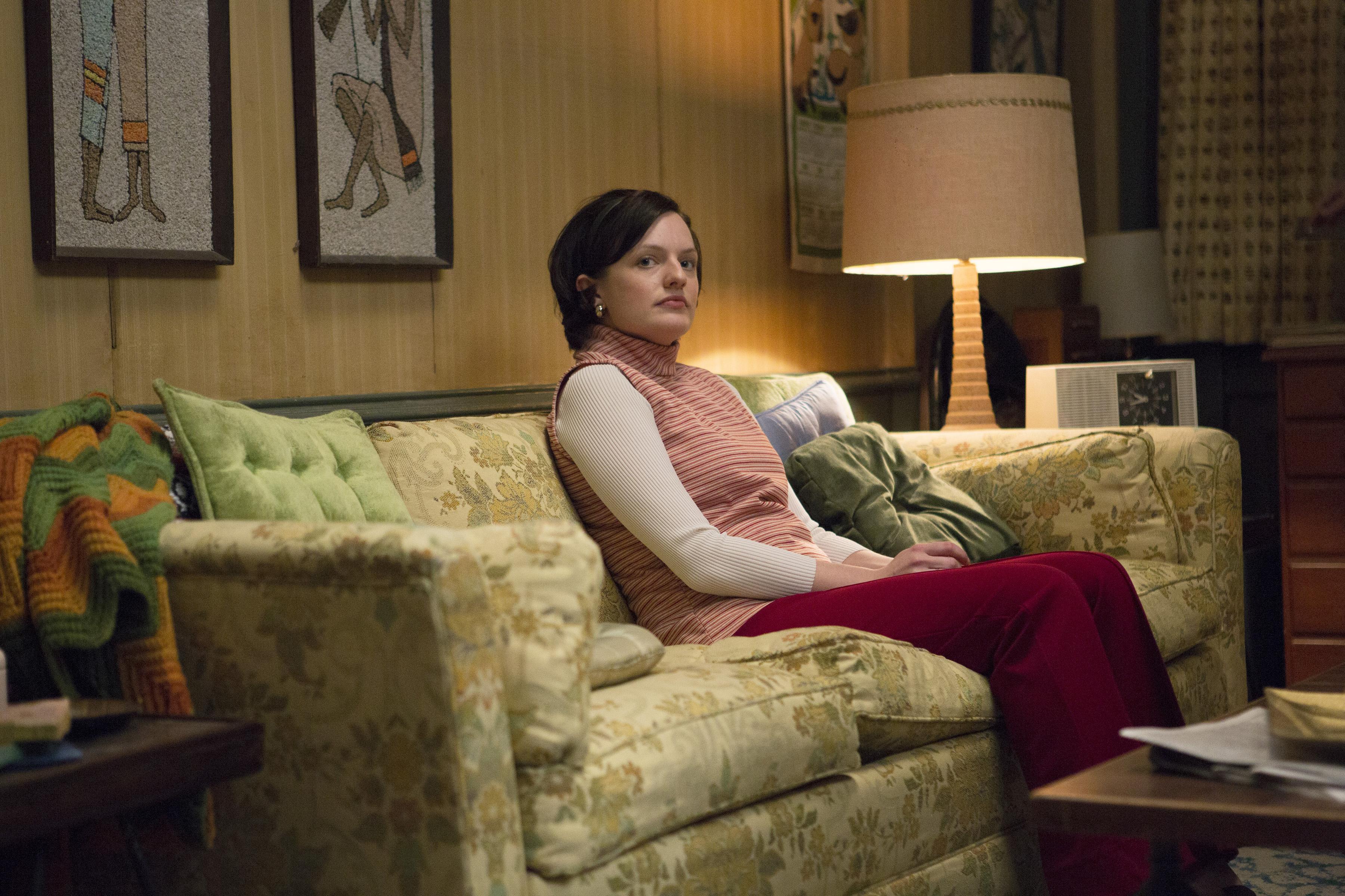 Elisabeth Moss as Peggy Olson in Mad Men (Season 7, Episode 5)