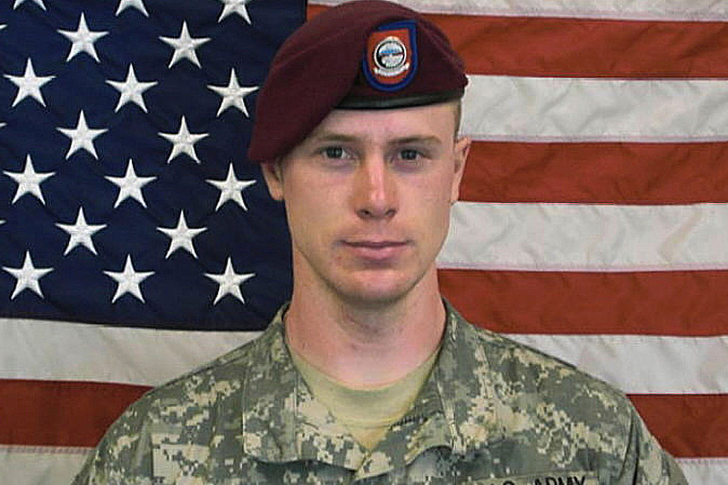 Sgt. Bowe Bergdahl in an undated image provided by the U.S. Army.