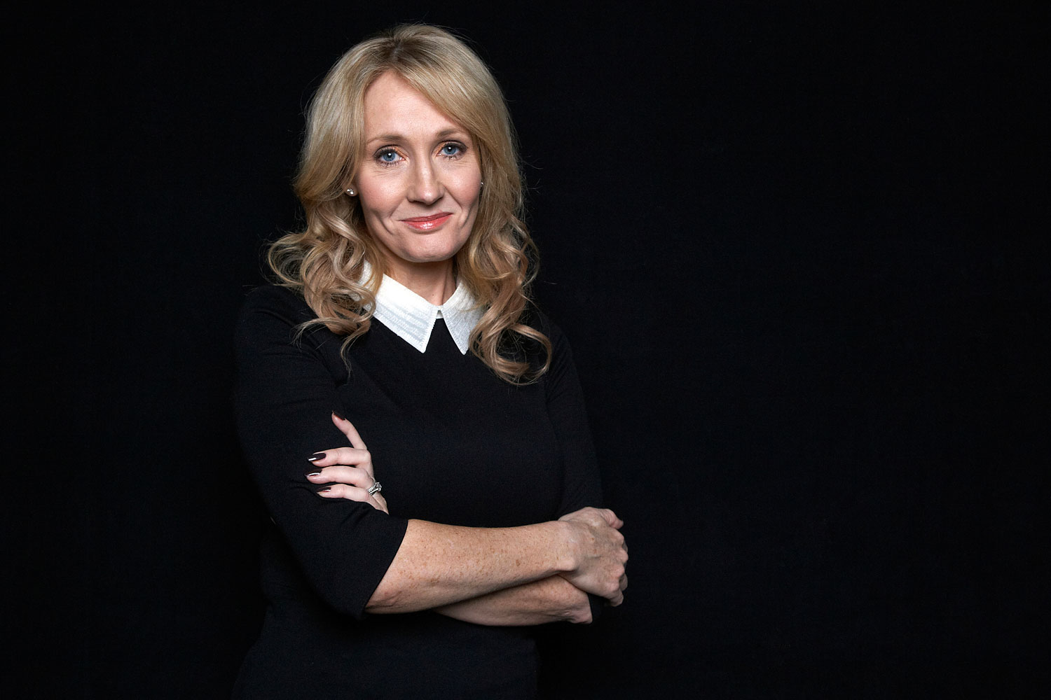 J.K. Rowling at an appearance to promote her book  The Casual Vacancy,  at The David H. Koch Theater in New York, Oct. 16, 2012.