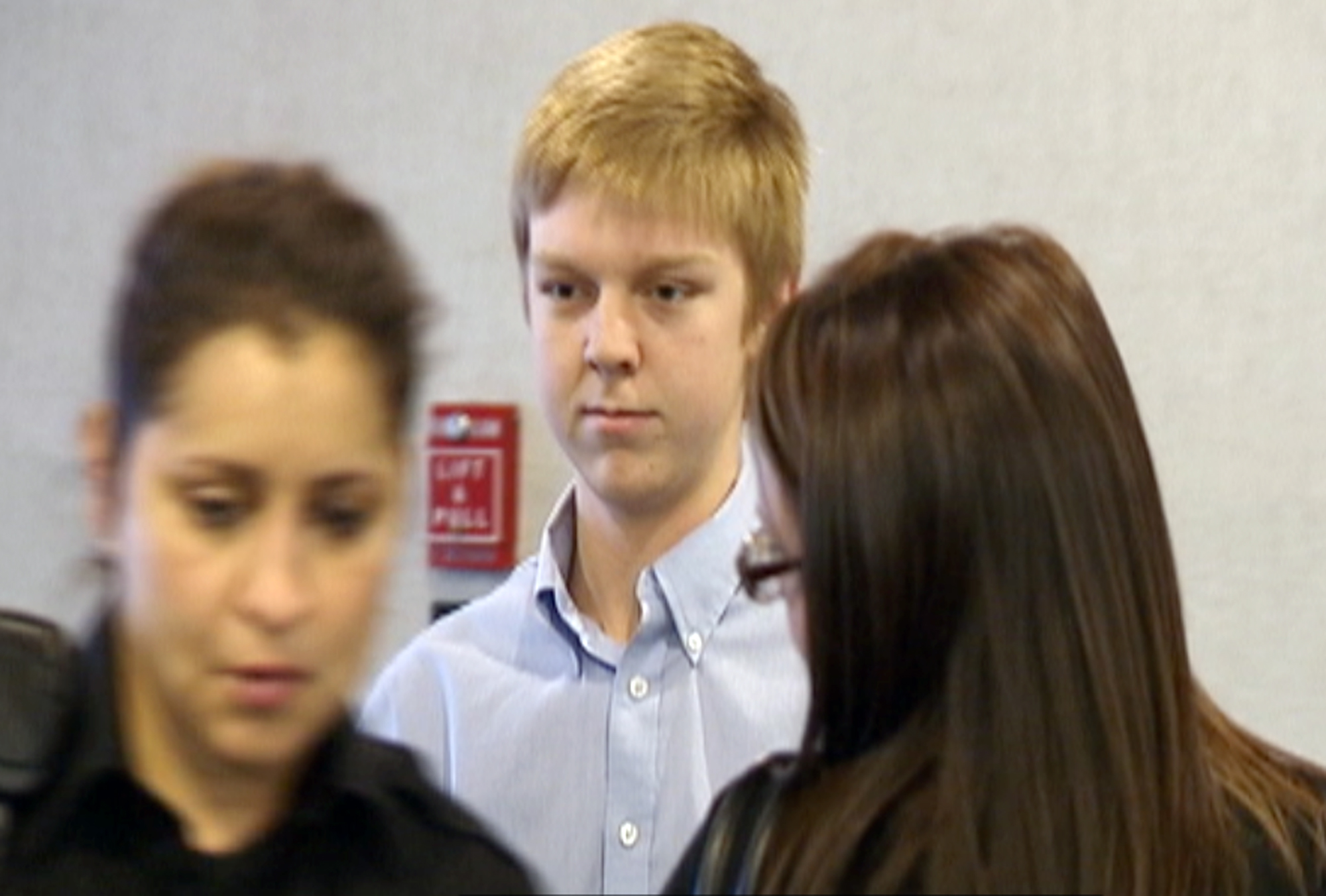 Ethan Couch is seen during his court hearing in Fort Worth, Texas in this December 2013 image taken from a video by KDFW-FOX 4.