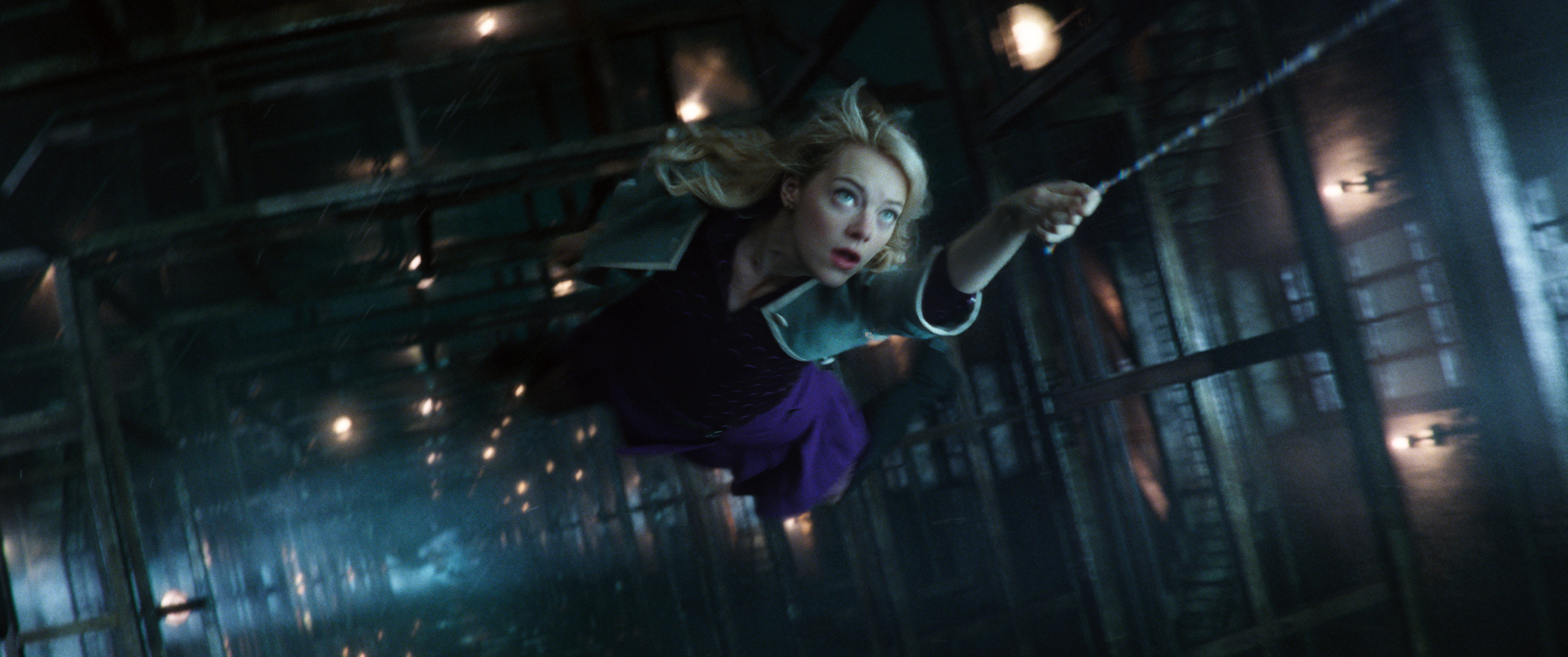 Emma Stone stars in The Amazing Spider-Man 2.