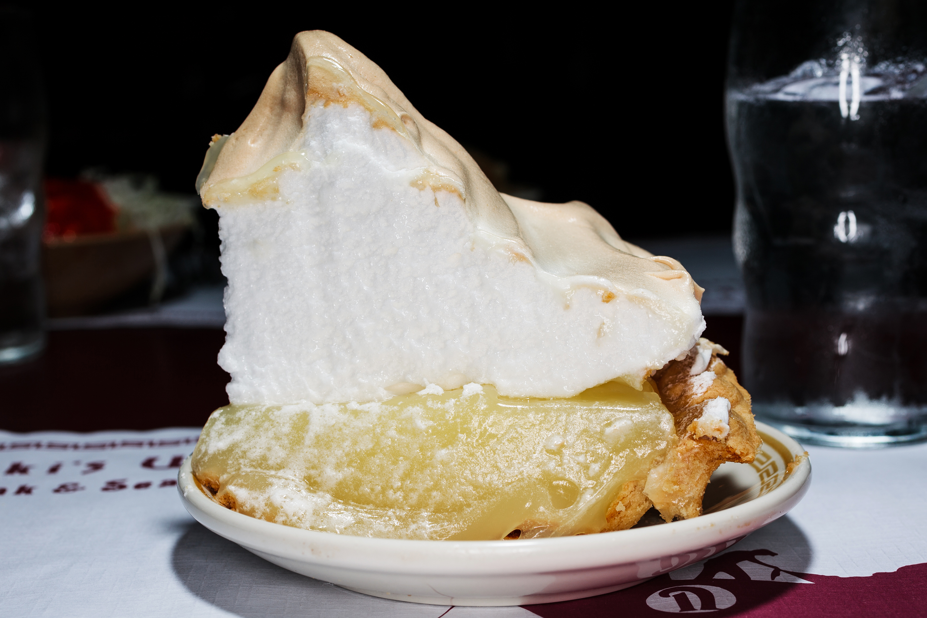 Lemon meringue pie at Niki's West in Birmingham, Ala.
