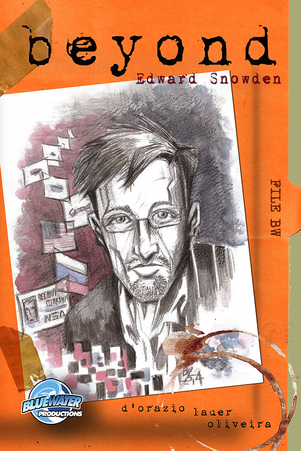 The book cover of Beyond: Edward Snowden