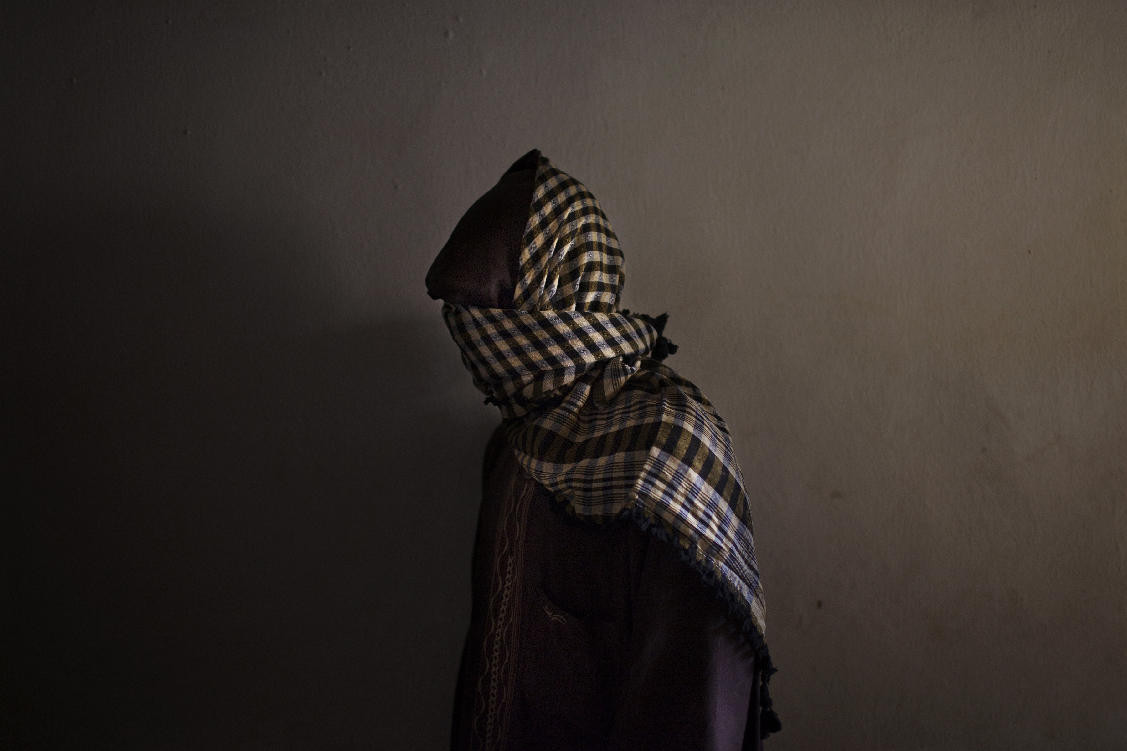 A member of Boko Haram in a suburb of Kano, Nigeria, in 2012.