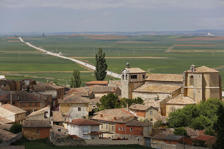 Spanish town of Castrillo Matajudios, near Burgos, April 21, 2014.