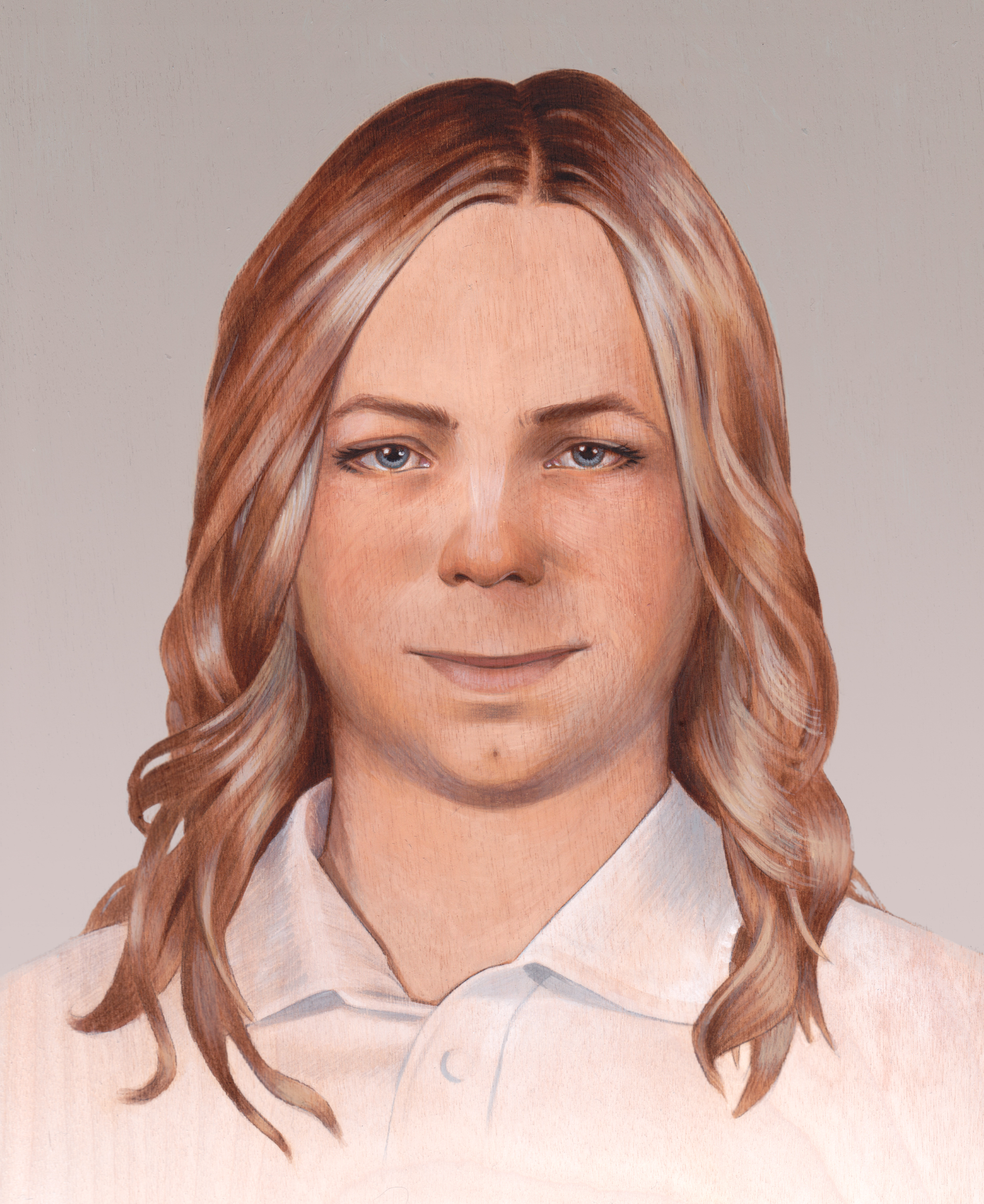 Artist rendering of how Chelsea Manning sees herself.