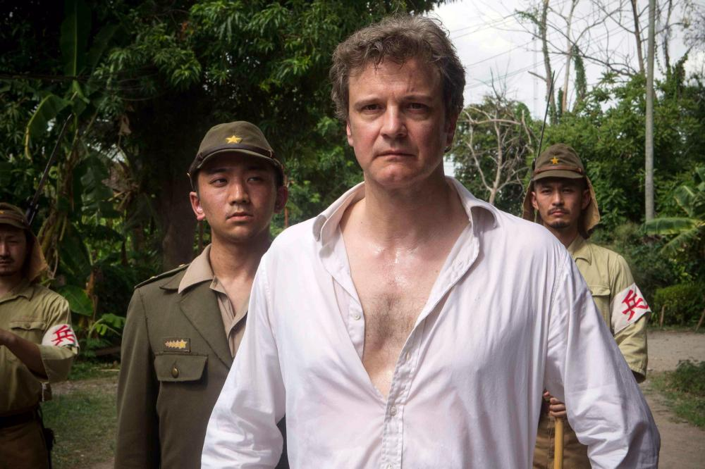 Witness to torture: Colin Firth in The Railway Man