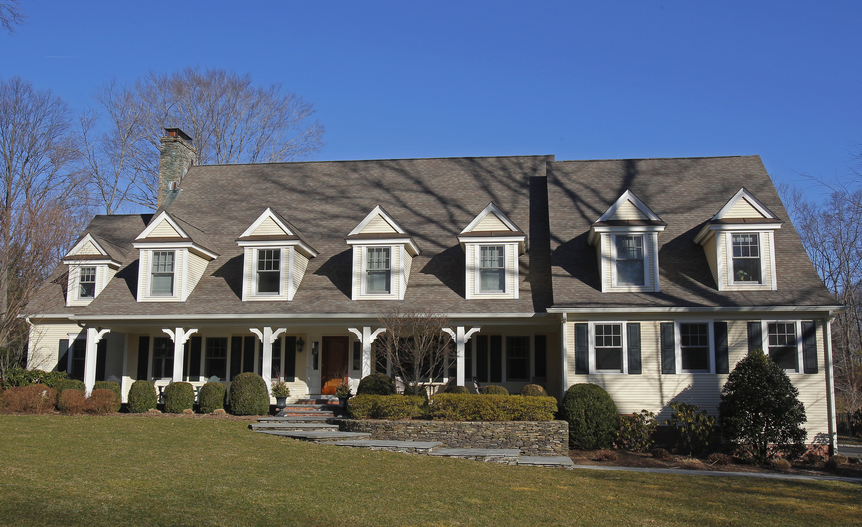 The home of Morgan Stanley investment banker, William Bryan Jennings, is seen in Darien, Connecticut on March 6, 2012.